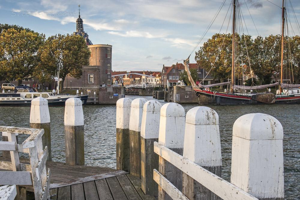 Im Hafen von Enkhuizen, Niederlande