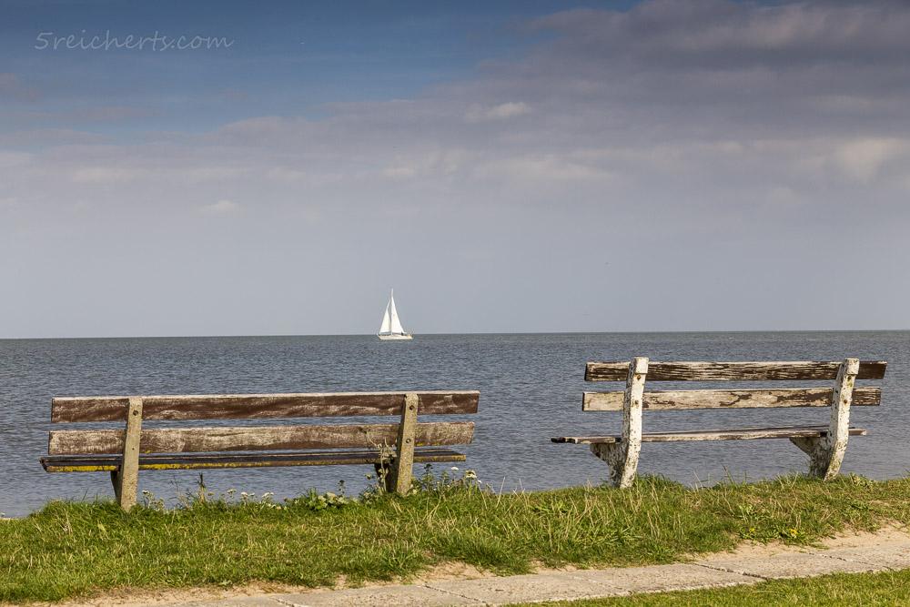 Segelboot in der Ferne, Marken, Niederlande