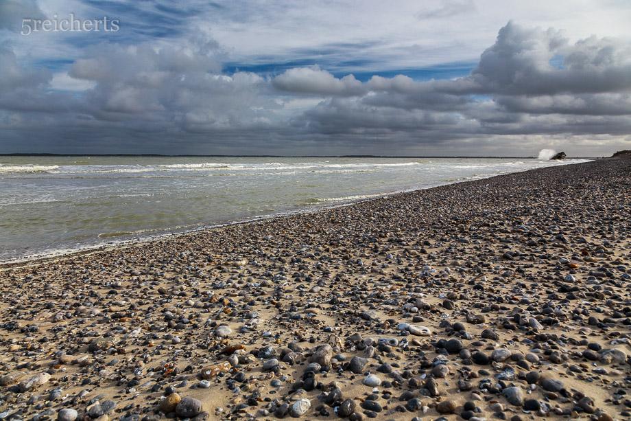 Der Strand nach dem Sturm, Picardie