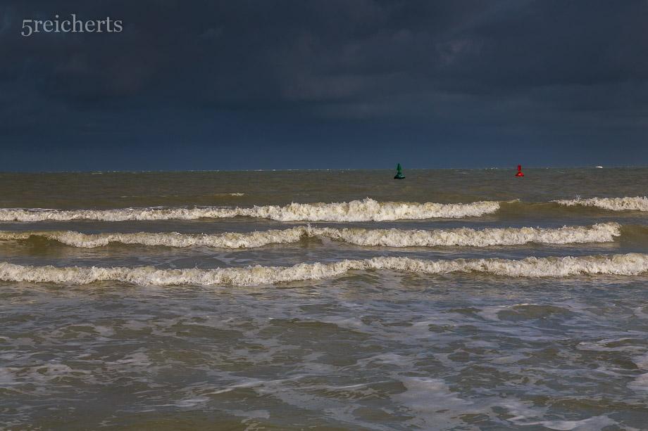 Wellen und Wolken, Picardie