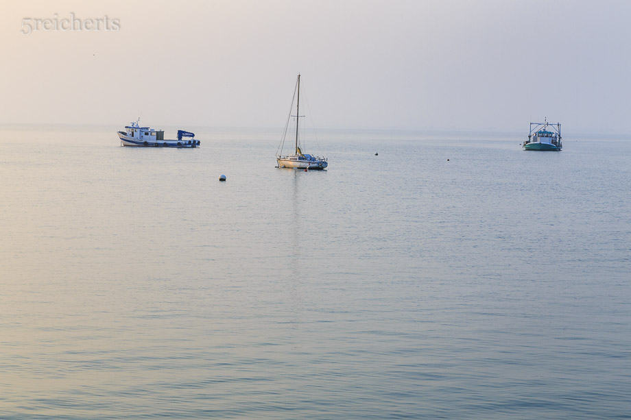 Boote in Cancale
