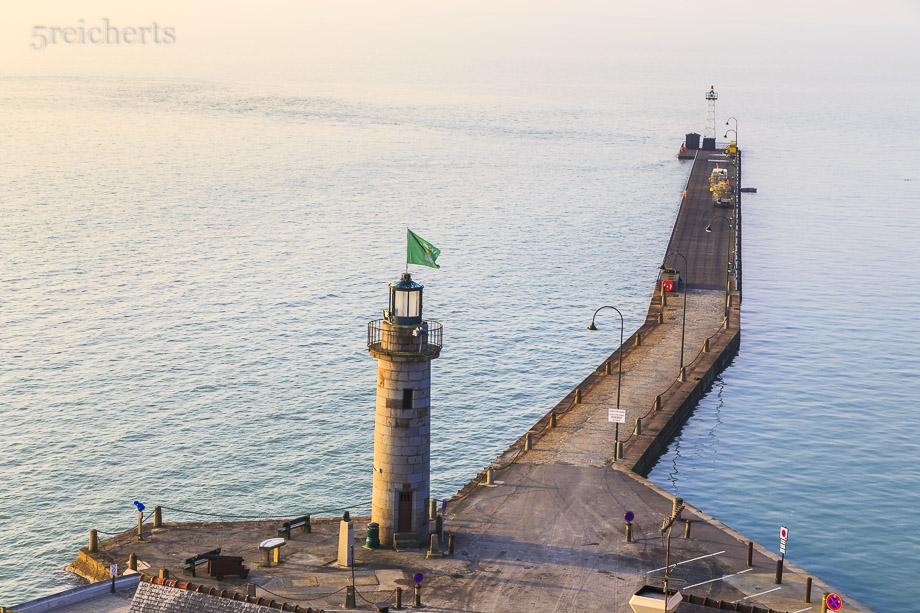 Hafenleuchtturm von Cancale, Bretagne