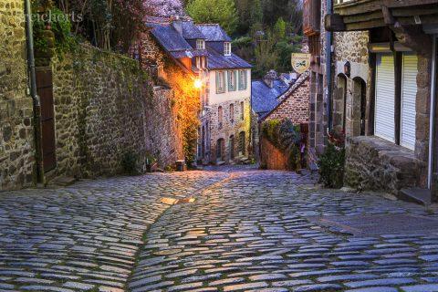 Rue du Jerzual, Dinan