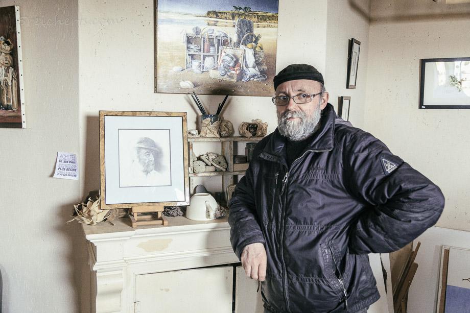Der Maler Didier-Marie Le Bihan