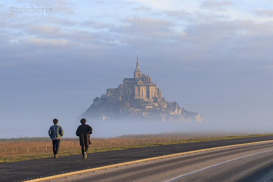Morgenstimmung Mont Saint Michel