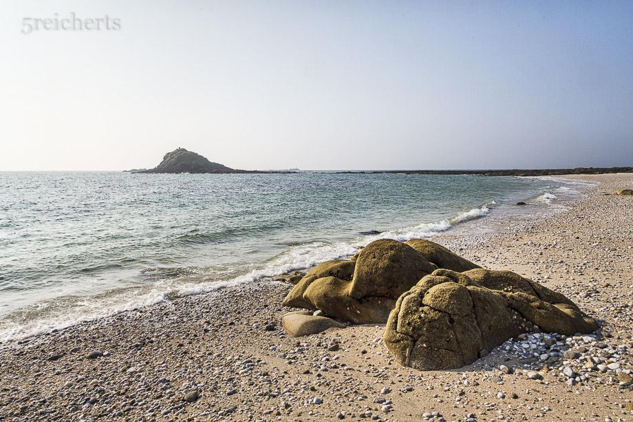 Strand an der Südküste von Hoedic