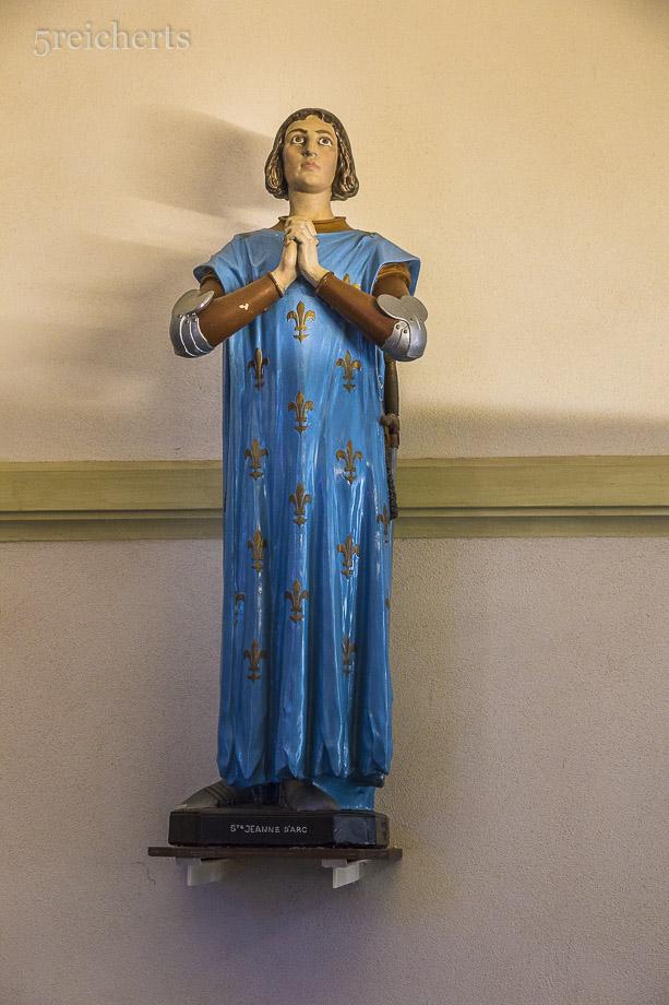 In der Kirche von Port Louis