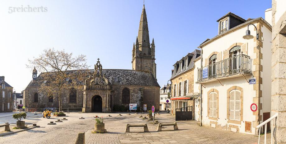 Kirche von Carnac, Bretagne