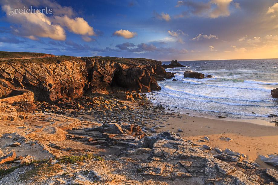 Blick über den Strand, Cote Sauvage