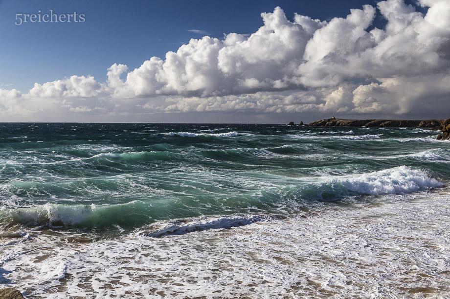 Sturm auf dem Wasser, Cote Sauvage