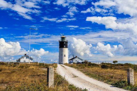 Hoburg Fyr, Insel Gotland, Schweden