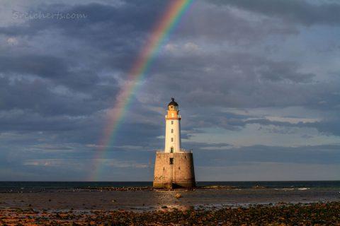 Rattray Lighthouse, Aberdeenshire, Schottland