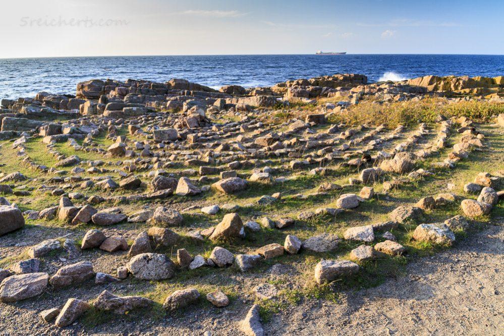 Steinkreis im Norden der Insel Bornholm