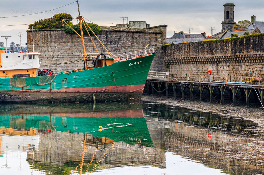 Museumsboot, Concarneau