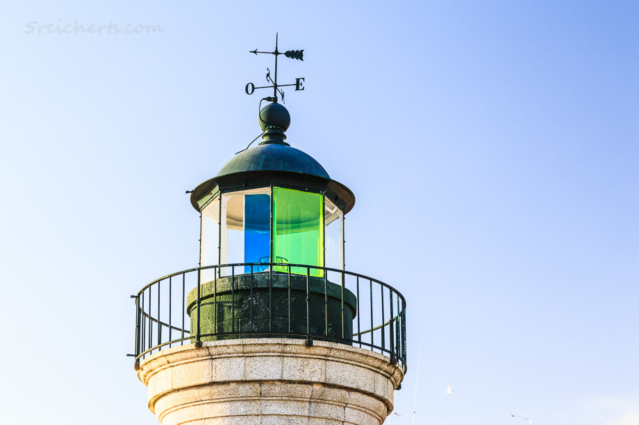Der kleine Leuchtturm im Hafen, Guilvinec