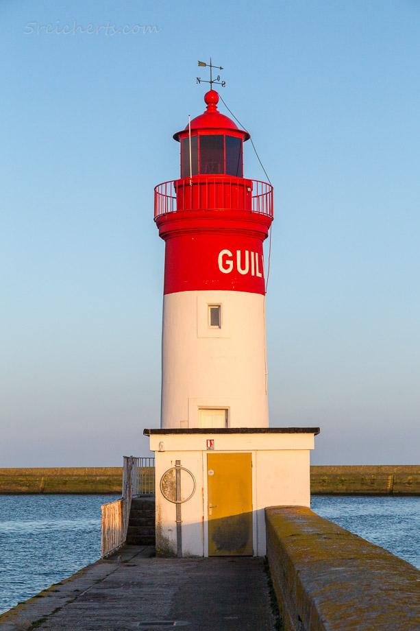 Der Hafenleuchtturm von Guilvinec