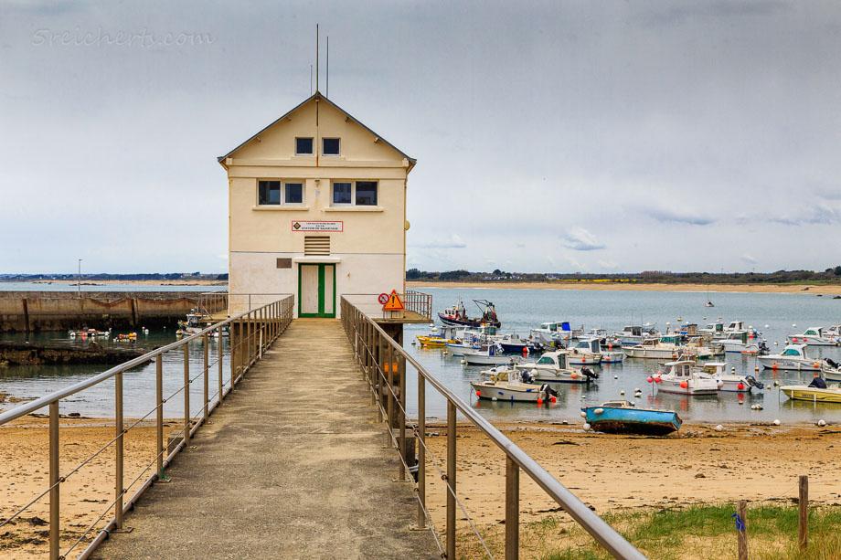 Haus des Rettungsbootes, Trevignon, Bretagne