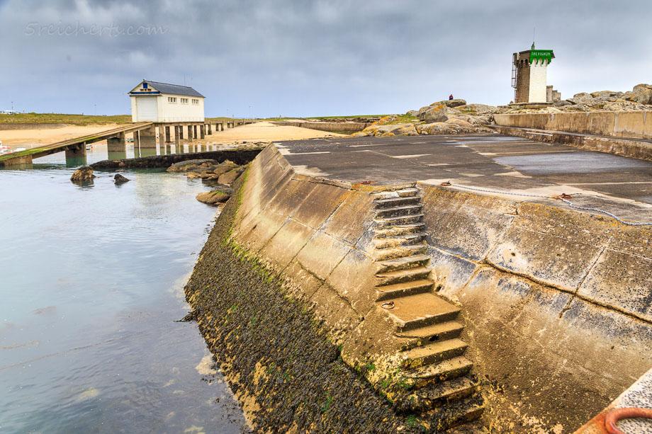 Hafenlandschaft, Trevignon, Bretagne