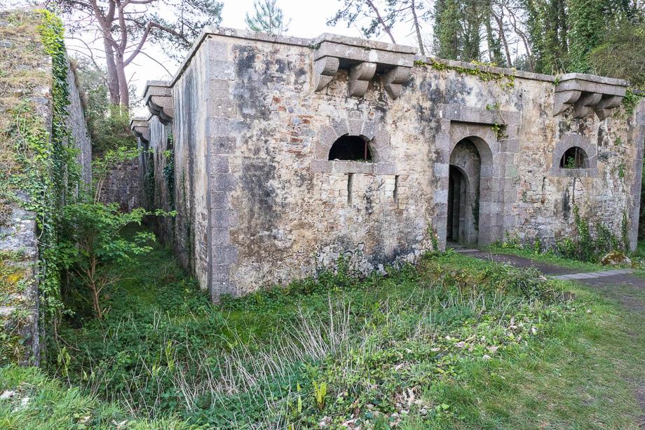 Festung Kardor, Morgat, Bretagne