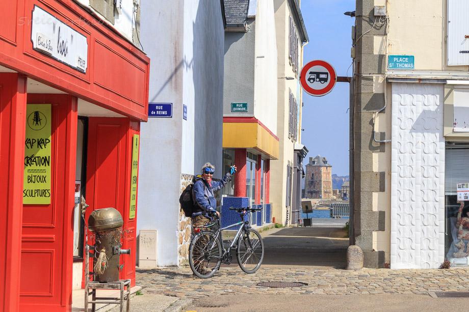Nicht mit dem Wohnmobil durchfahren! Camaret, Bretagne