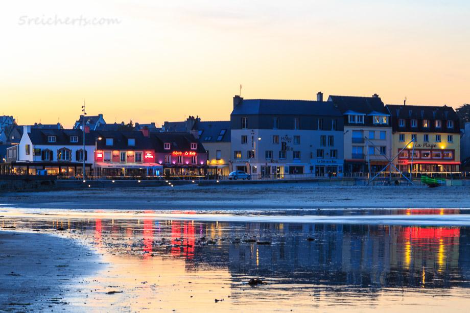 Morgat im Abendlicht, Bretagne