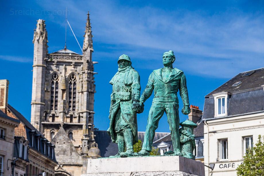 Weltkriegsdemkmal, Fecamp, Normandie