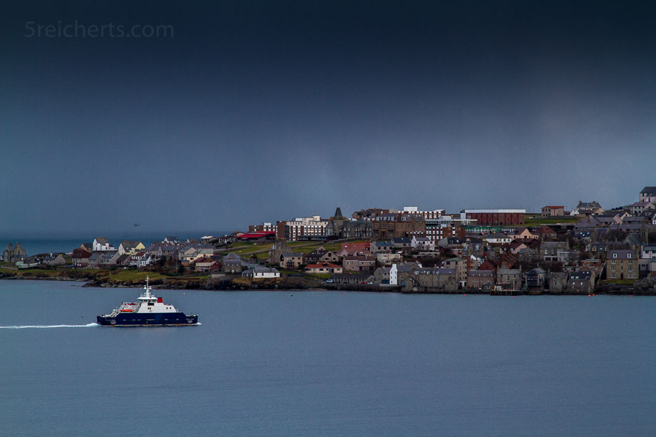 Fähre von Bressay nach Lerwick, Shetland