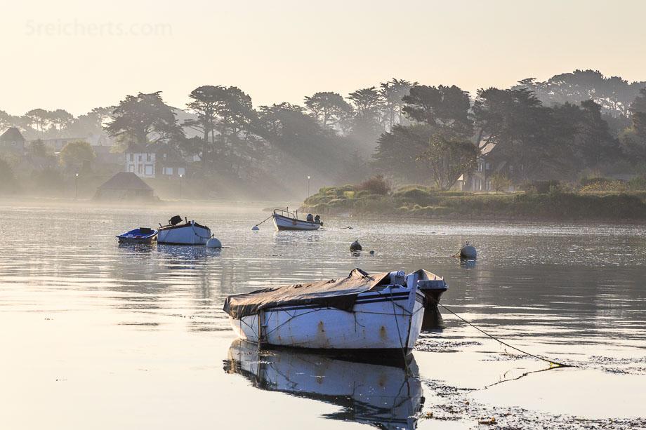 Hafenbucht Ploumanac'h, Bretagne