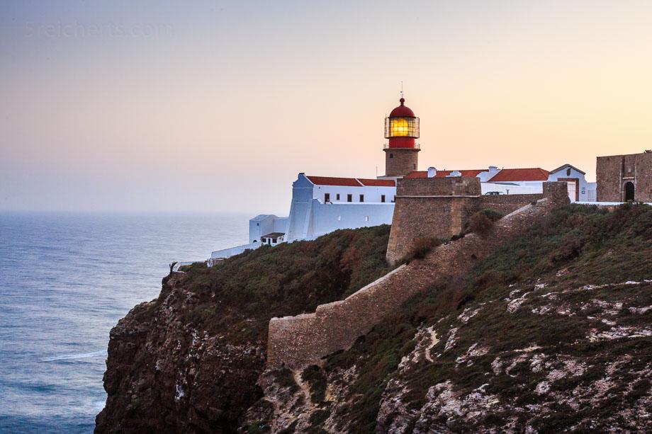 Farol Sao Vicente, Portugal