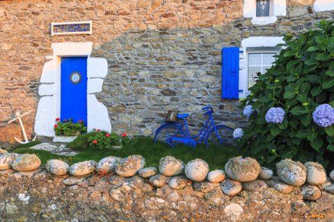 Haus auf Ouessant, Bretagne