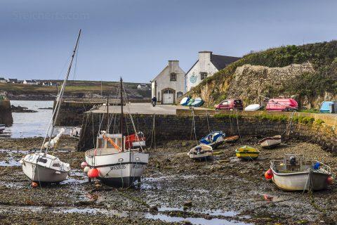 Port de Lampaul, Ouessant, Bretagne