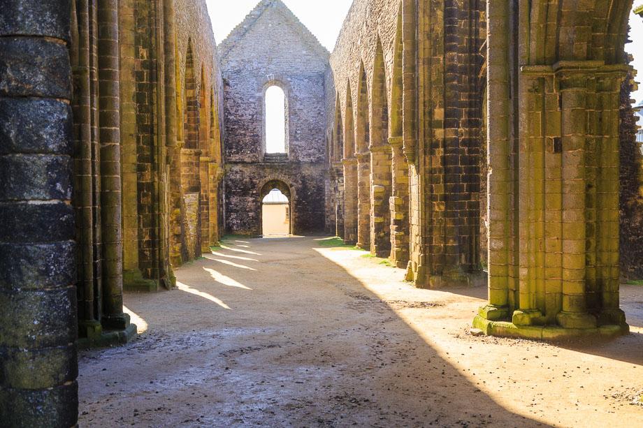 Abtei, Saint Mathieu, Bretagne