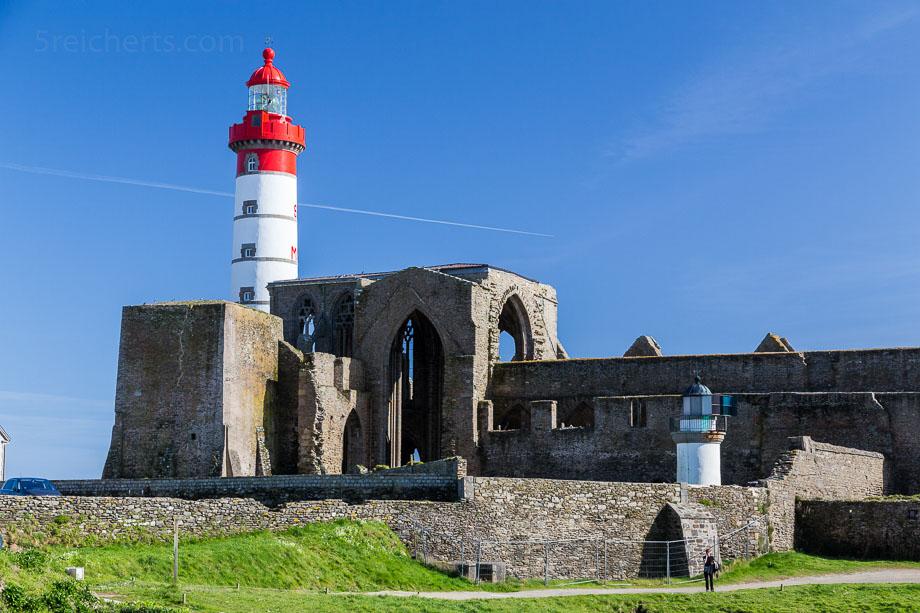 Leuchtturm und Klosteruine Saint Mathieu, Bretagnent