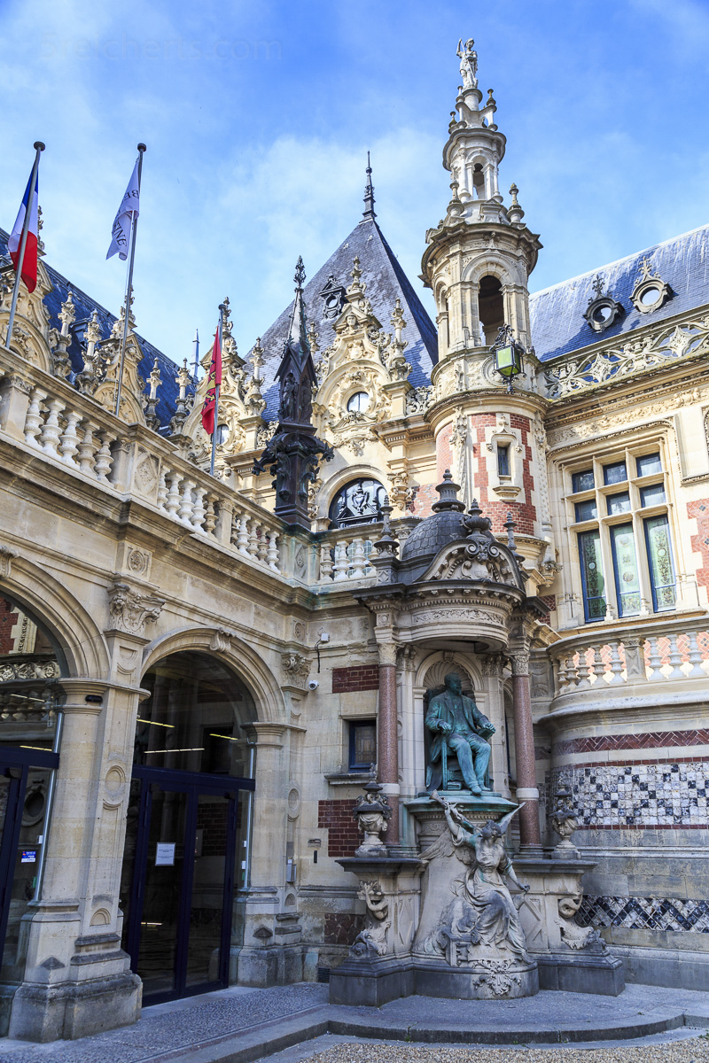 Palais Benedictine, Fecamp, Normandie