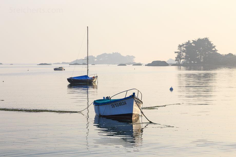 Baie de Sainte Anne, Tregastel, Bretagne
