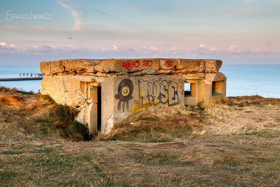 Bunkeranlage, Antifer, Normandie