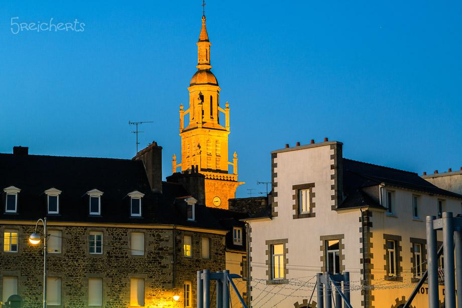 Die Kirche in der blauen Stunde, Binic