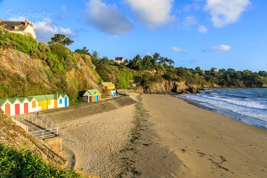 Strandhäuschen von Binic