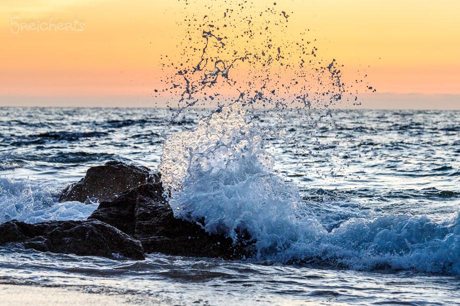 Wellen am Abend, Fréhel