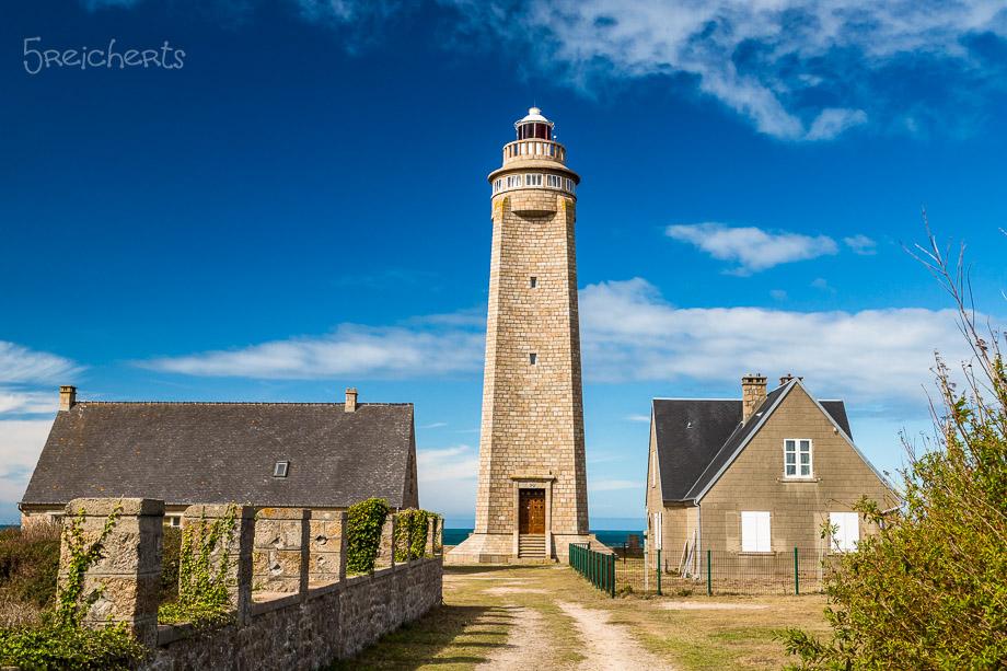 Leuchtturm am Cap Levi, Normandie