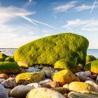 Grüner Fels, Cap Levi, Normandie