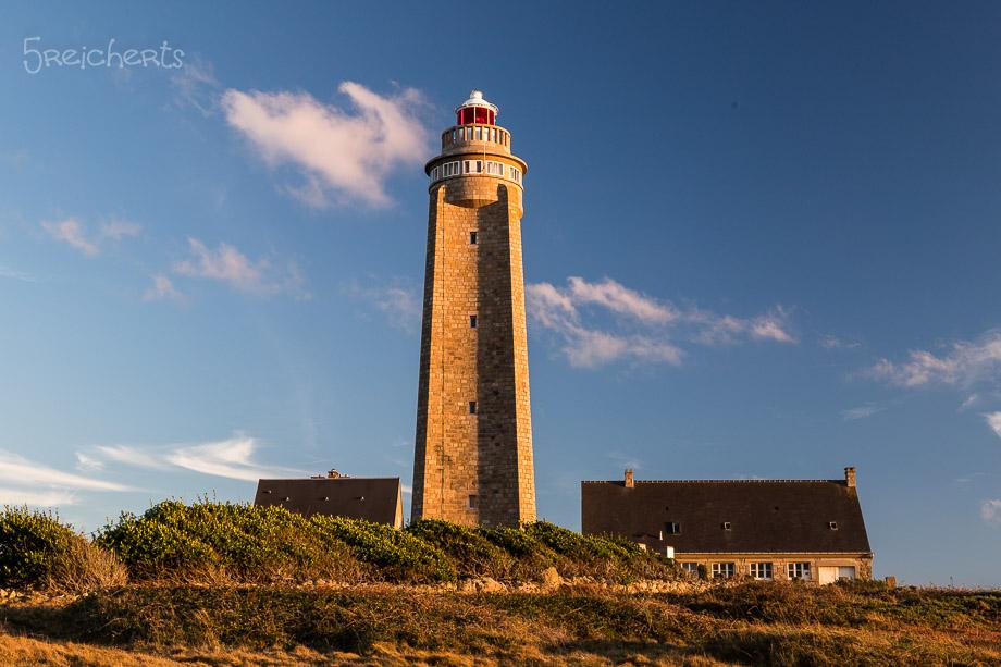 Abendlicht auf dem Leuchtturm am Cap Levi