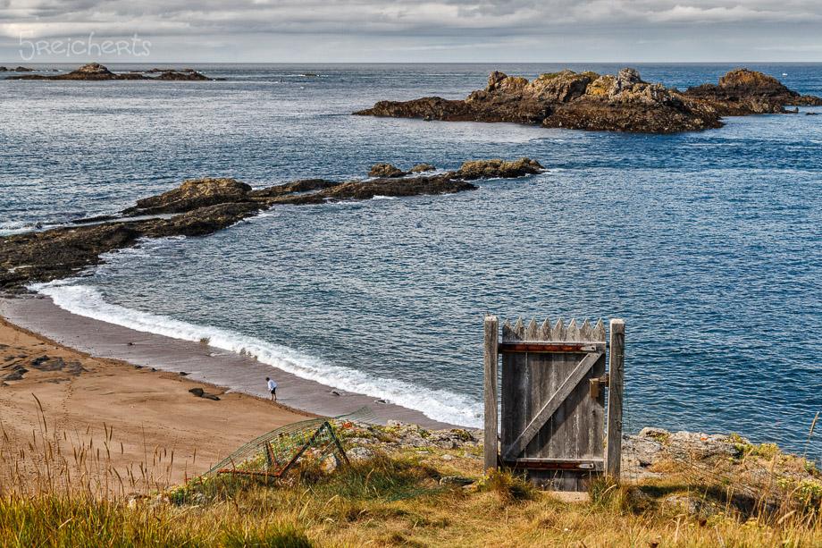 Tür zum Strand, Rotheneuf