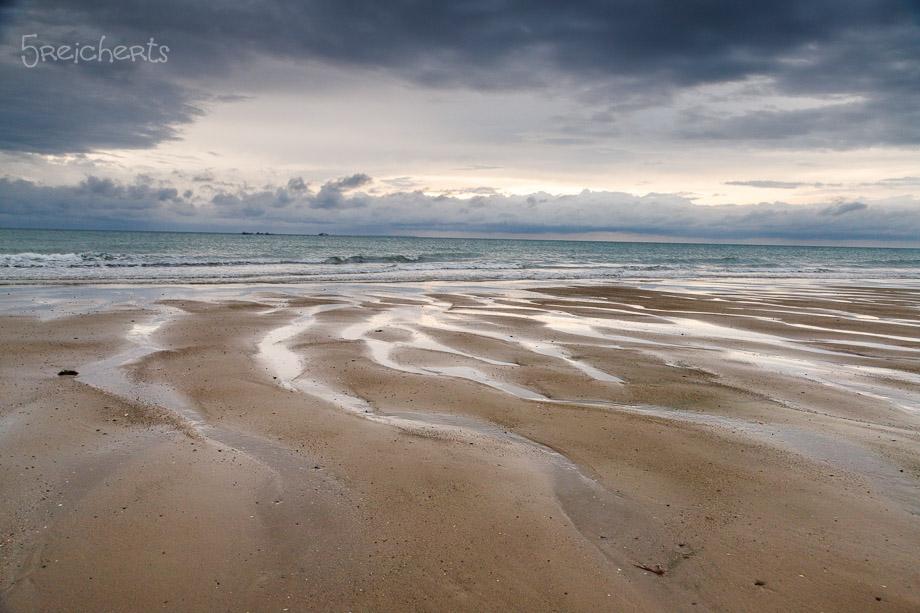 Am Strand von Gouville
