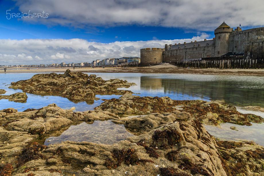 Gezeitenbecken, Saint Malo