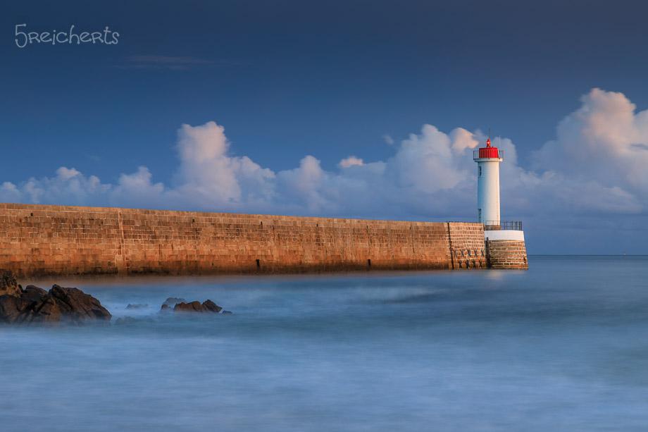 Und dann war alles Blau, Audierne, Bretagne