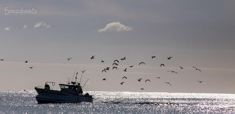 Fischerboot, Audierne