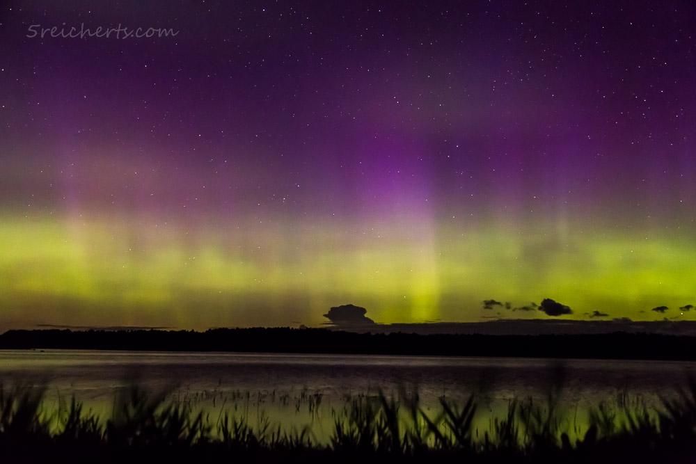 Schwaches Nordlicht, Aland, Finnland