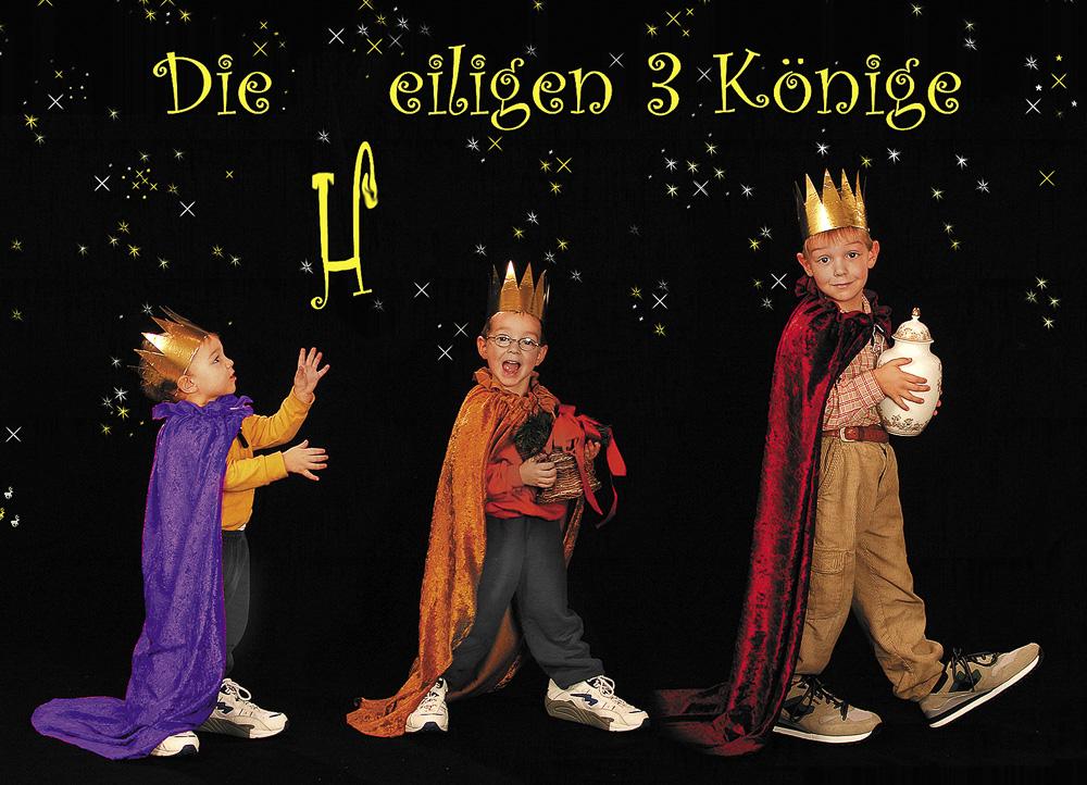 Die eiligen drei Könige