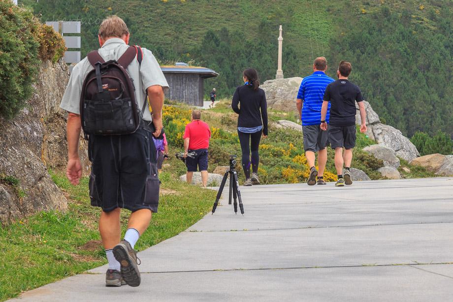 Am Cabo Fisterra, dem Ende des Jakobswegs hatten wir ein Stativ versehentlich stehenlassen.